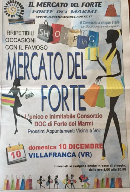Il Mercato del Forte a Villafranca VR