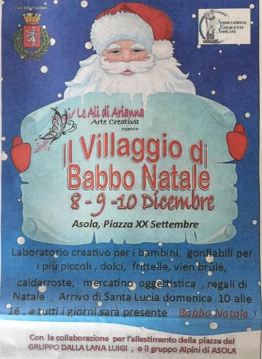 Il Villaggio di Babbo Natale di Asola