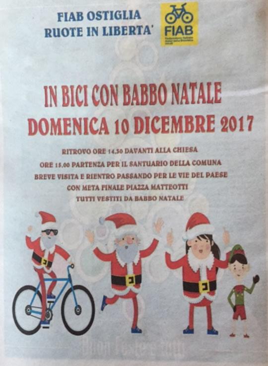 In Bici con Babbo Natale
