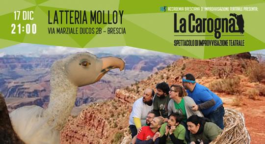 La Carogna - spettacolo di improvvisazione teatrale a Brescia