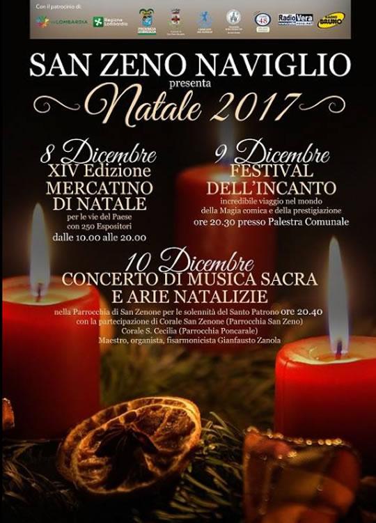 Natale 2017 a San Zeno Naviglio