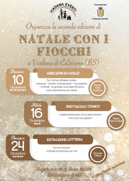 Natale con i Fiocchi a Viadana di Calvisano