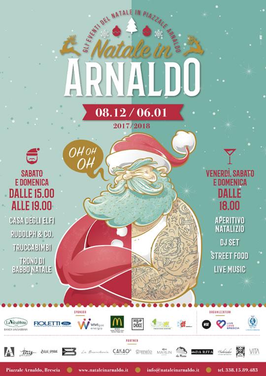 Natale in Arnaldo a Brescia