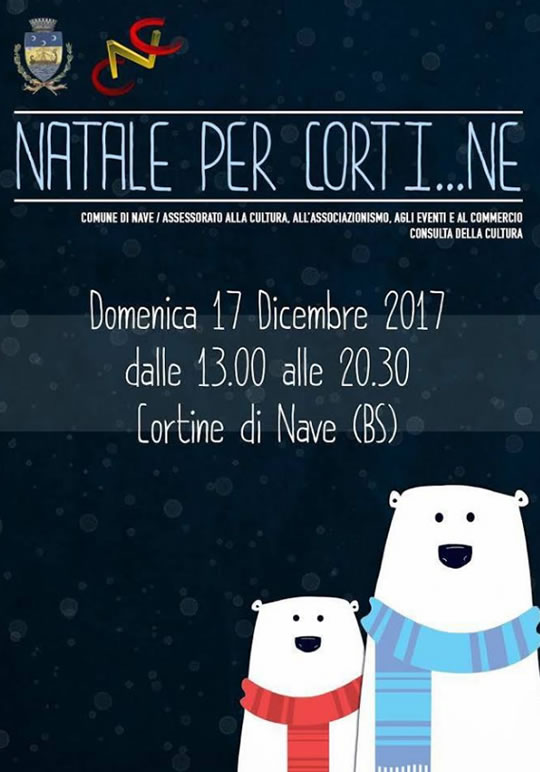 Natale per Corti..ne a Nave
