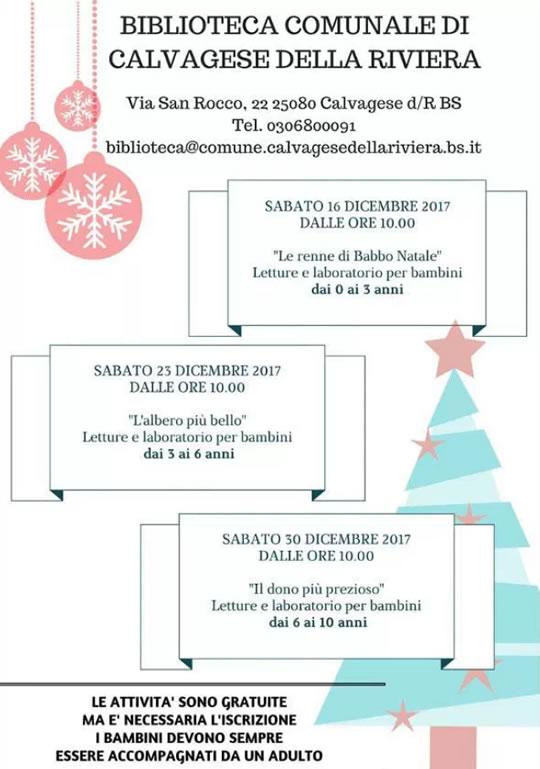 Natale per i bambini a Calvagese della Riviera