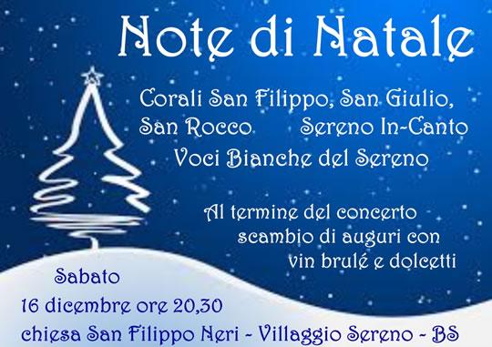 Note di Natale al Villaggio Sereno