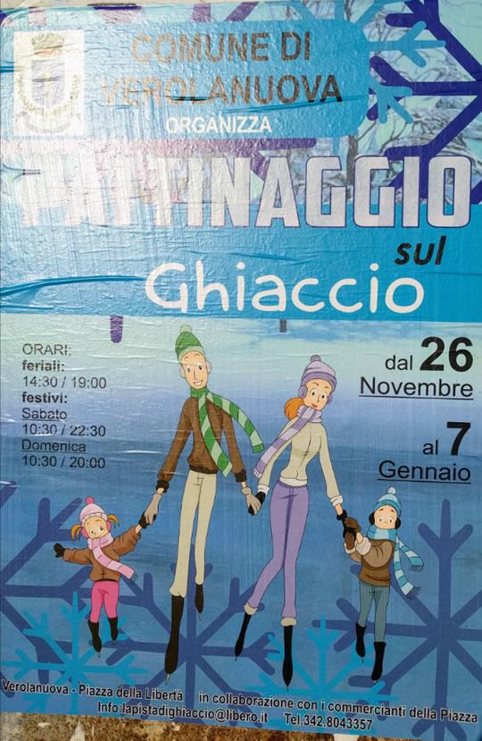 Pattinaggio sul Ghiaccio a Verolanuova