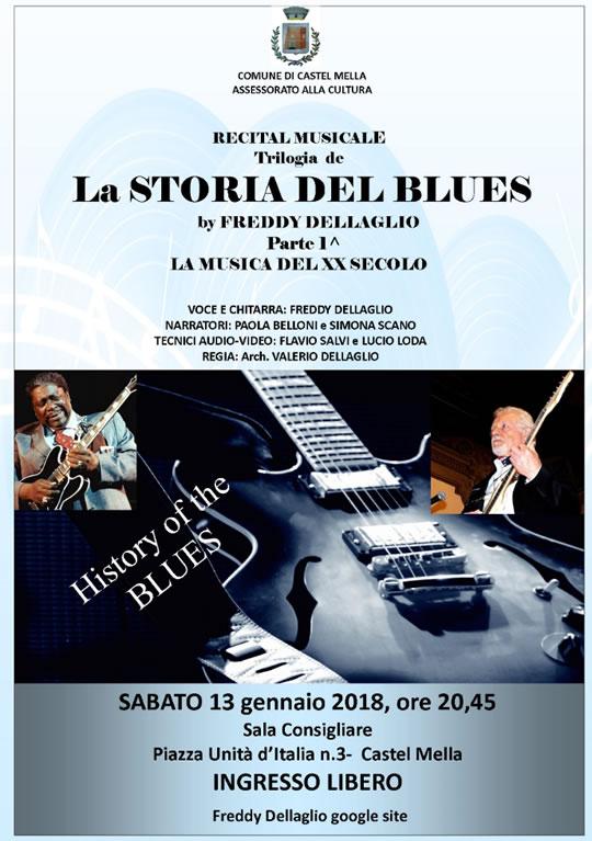 Recital La Storia del Blues a Castel Mella