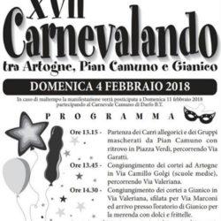 17 Carnevalando tra Artogne, Pian Camuno e Gianico