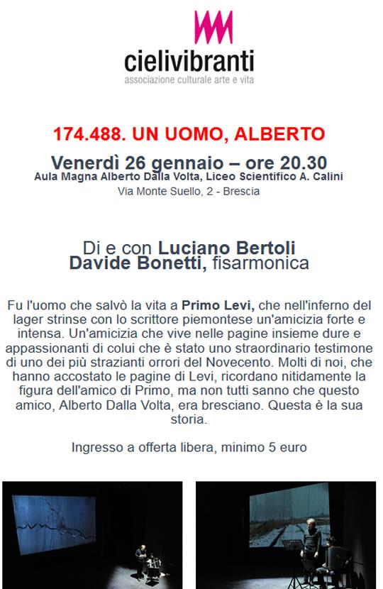 174.488 Un Uomo, Alberto a Brescia