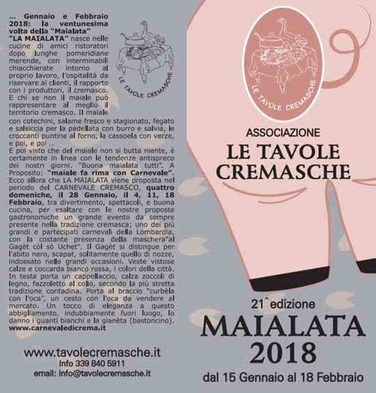 21 Maialata Cremasca