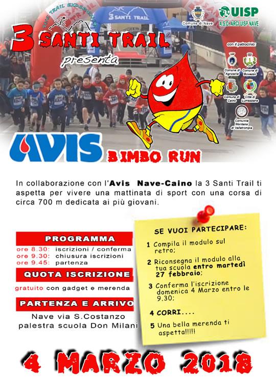 Avis Bimbo Run a Nave