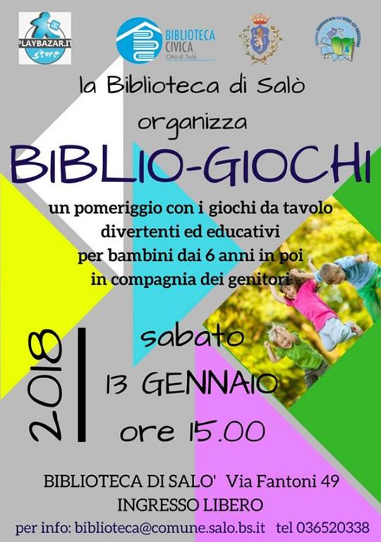 Biblio-Giochi a Salò