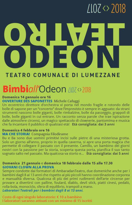 Bimbi all'Odeon di Lumezzane