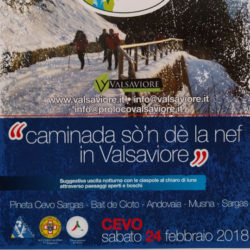 Caminada sò'n dè la nef in Valsaviore