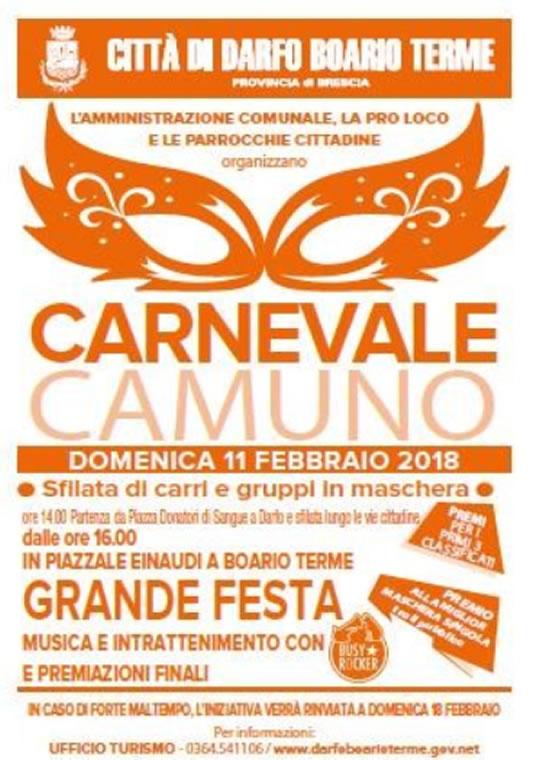 Carnevale Camuno a Darfo Boario Terme