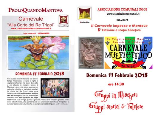 Carnevale alla Corte di Re Trigol a Mantova