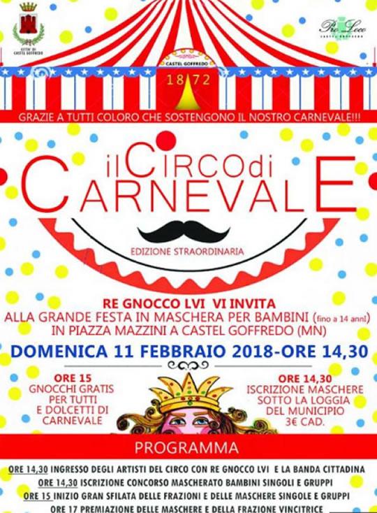 Carnevale di Re Gnocco a Castel Goffredo MN