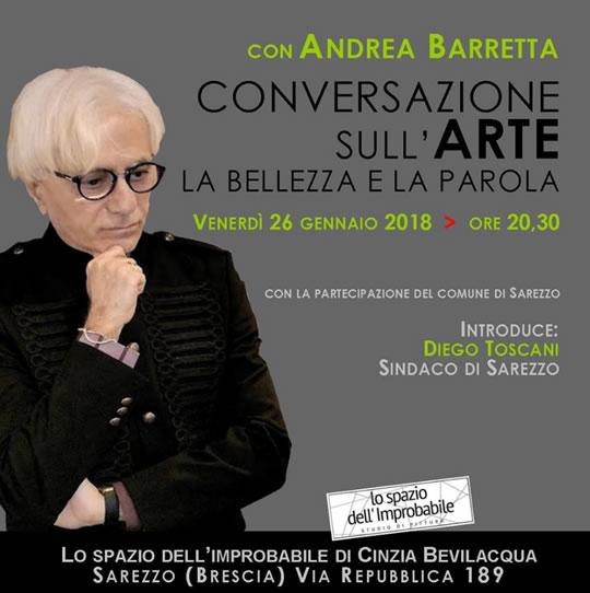 Conversazione sull'Arte la Bellezza e la Parola a Brescia