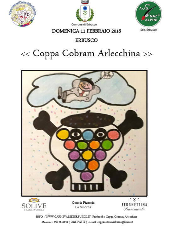 Coppa Cobram Arlecchina ad Erbusco