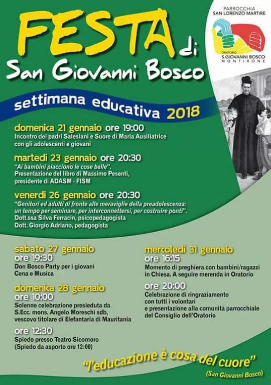 Festa di San Giovanni Bosco a Montirone