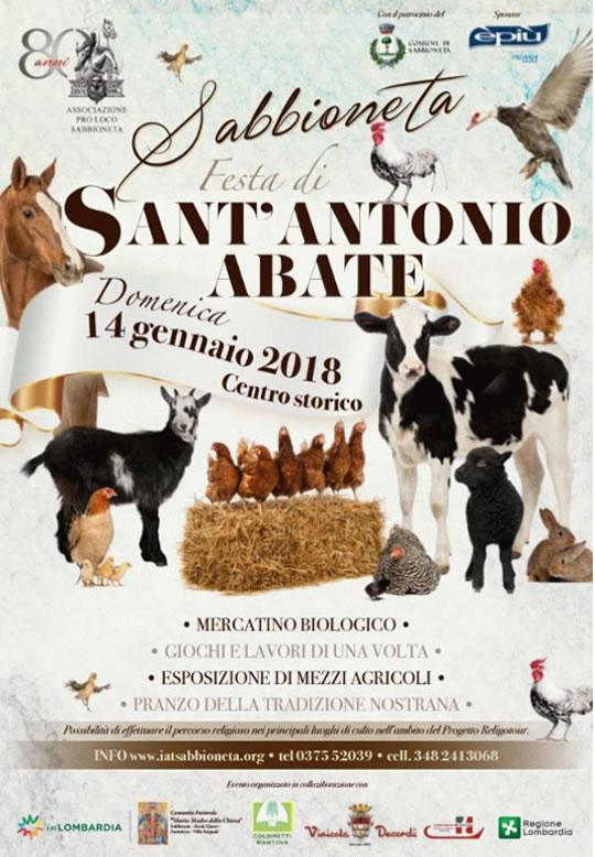 Festa di Sant'Antonio Abate a Sabbioneta