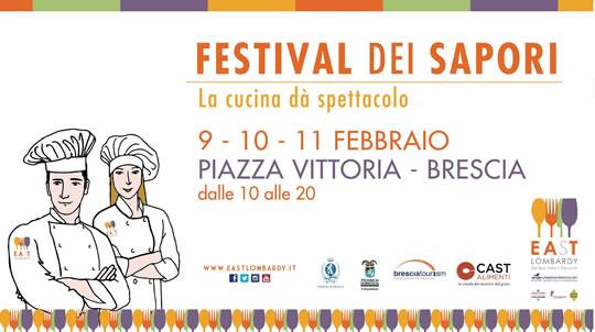 Festival dei Sapori a Brescia