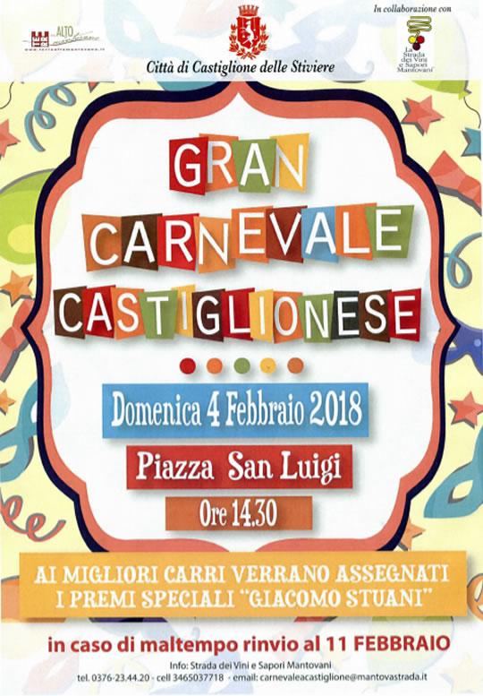 Gran Carnevale Castiglionese a Castiglione delle Stiviere MN