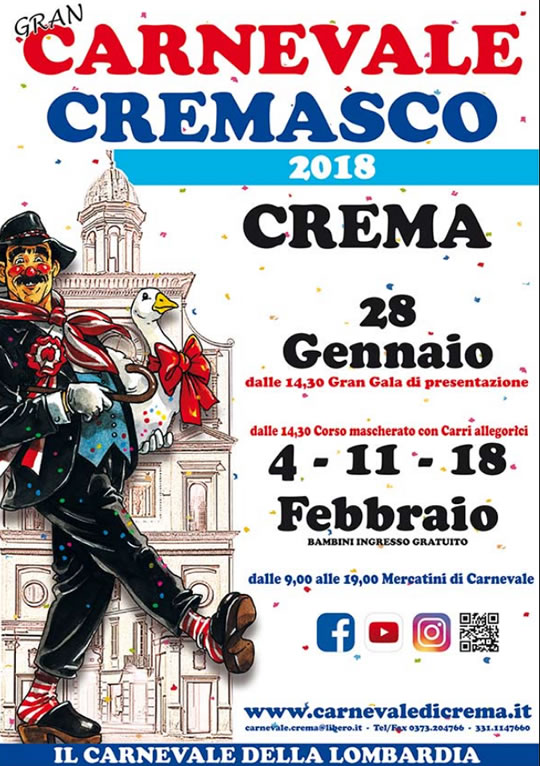 Gran Carnevale Cremasco a Crema