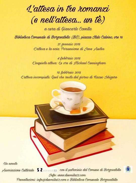 L'attesa in tre romanzi a Borgosatollo