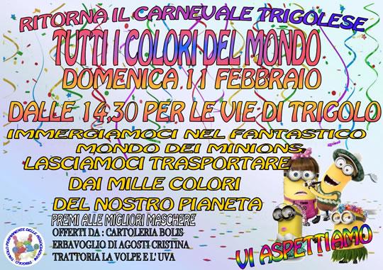 Ritorna il carnevale a Trigolo