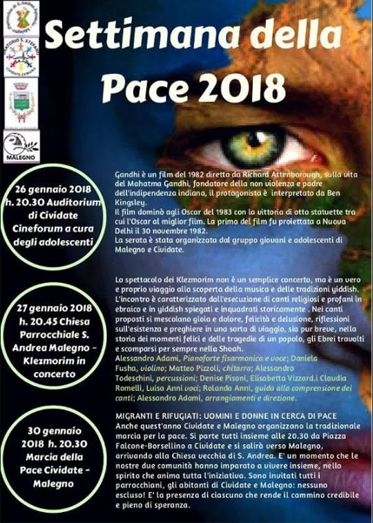 Settimana della Pace a Cividate Camuno