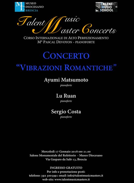 Vibrazioni Romantiche a Brescia
