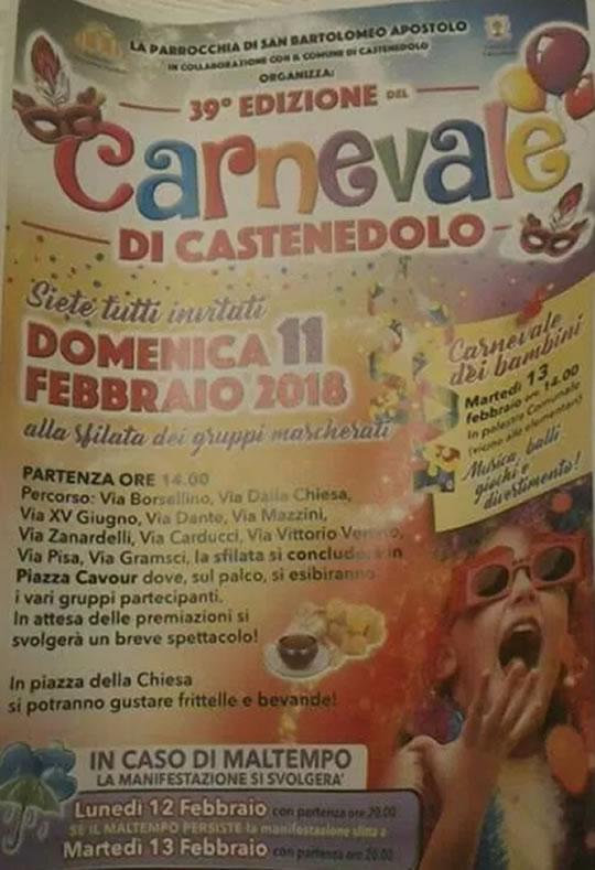 39 Carnevale di Castenedolo