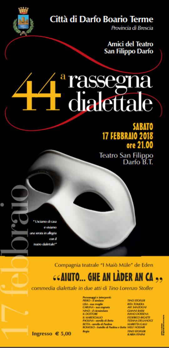 44 Rassegna Dialettale a Darfo Boario Terme