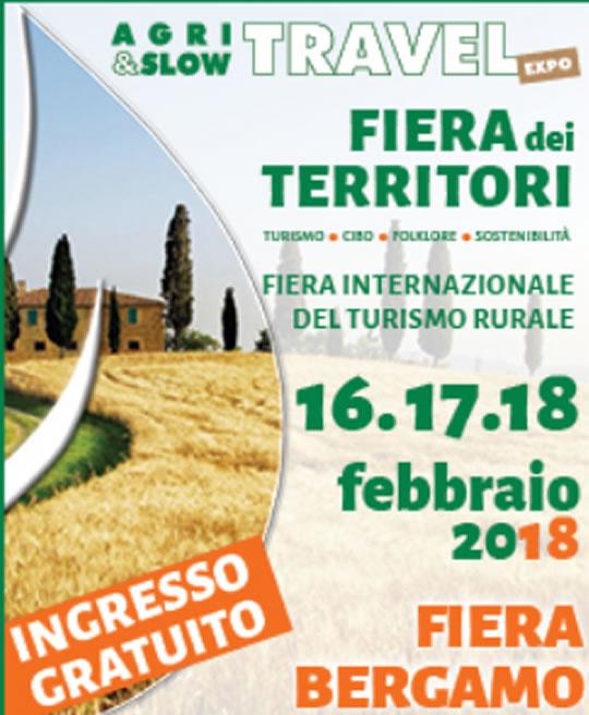 Agri e Slow Travel Expo a Bergamo