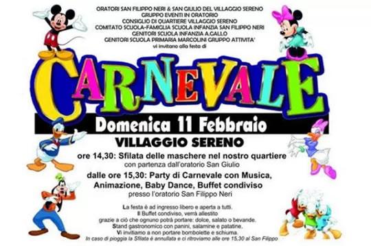 Carnevale al Villaggio Sereno