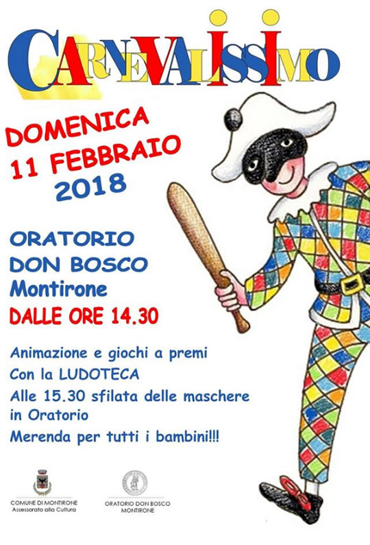 Carnevalissimo a Montirone