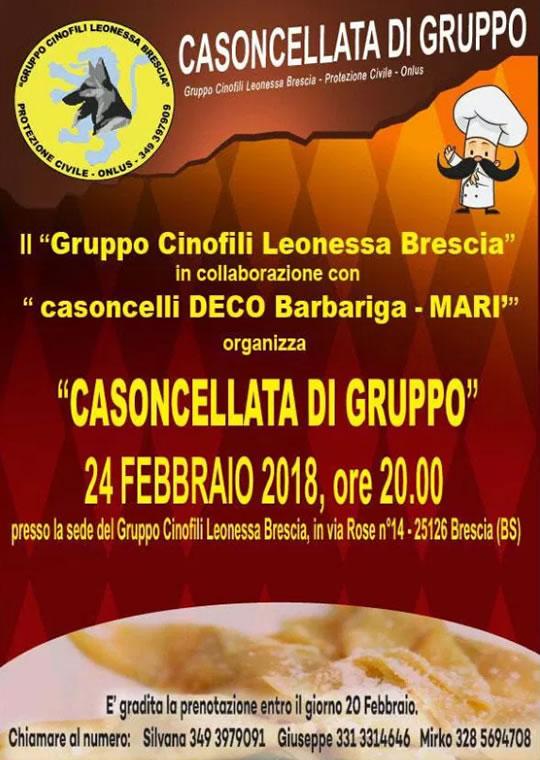 Casoncellata di Gruppo a Brescia