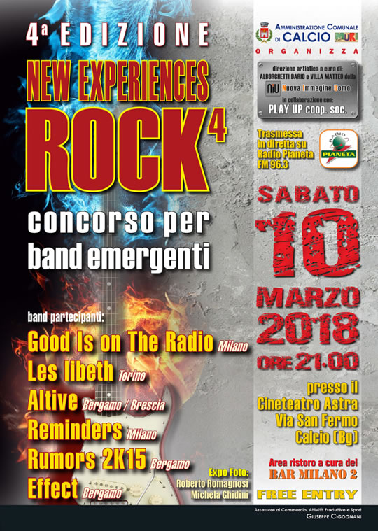 Concorso Rock per Band Emergenti a Calcio (BG)