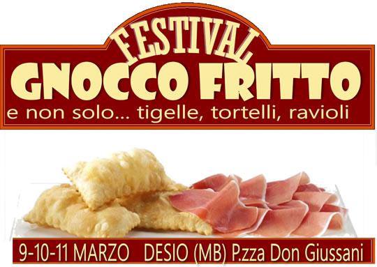 Festival Gnocco Fritto a Desio MB