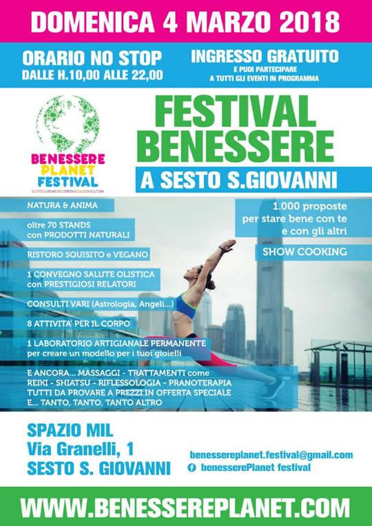 Festival del Benessere a Sesto S.Giovanni MI