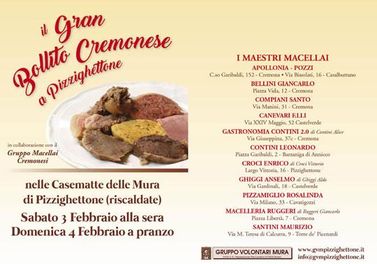 Il Gran Bollito Cremonese a Pizzighettone