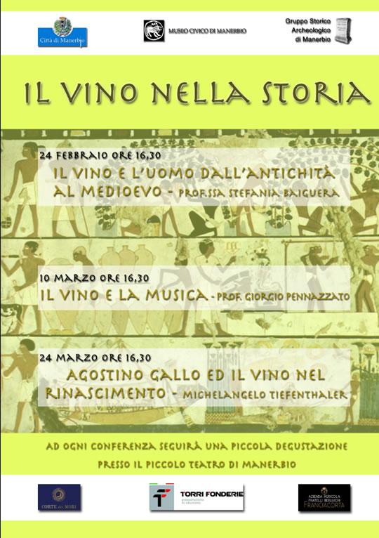 Il Vino nella Storia a Manerbio