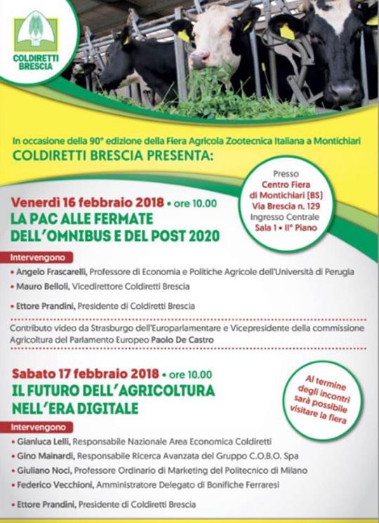 Incontri con Coldiretti a Montichiari