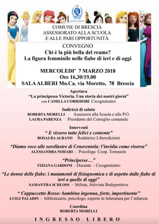 La Figura Femminile nelle Fiabe a Brescia