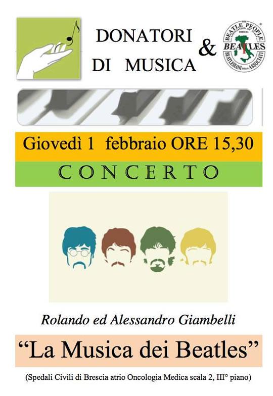 La Musica dei Beatles a Brescia