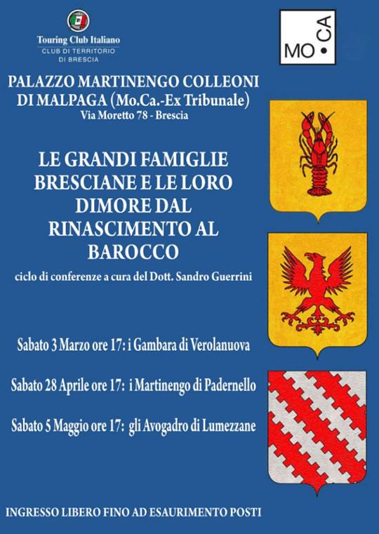 Le Grandi Famiglie Bresciane e le loro Dimore dal Rinascimento al Barocco