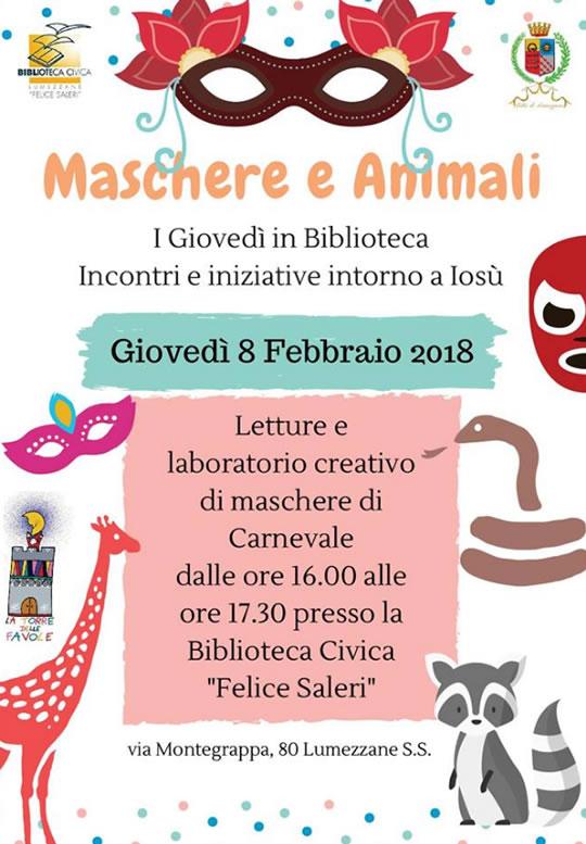 Maschere e Animali a Lumezzane