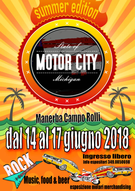 Motor City Summer ed. a Manerba
